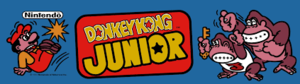 Donkey Kong Junior marquee.png